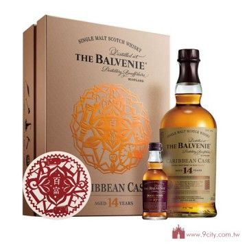 Balvenie 百富 【春節2016】蘇格蘭 百富 14年 CARIBBEAN 斯貝塞 單一純麥威士忌 禮盒:洋酒城洋酒量販連鎖