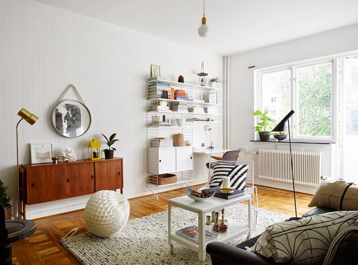 a bright and clear apartment that still feels very cosy