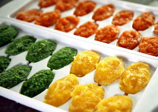 Add pureed veggies into every-day recipes. Includes ways to store and use each kind.