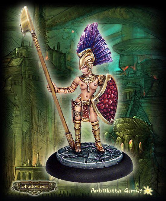 Axibalán Empire - Amatzl Warrior