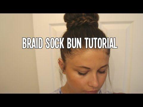 Braid Sock Bun Hair Tutorial | MoreSavannah