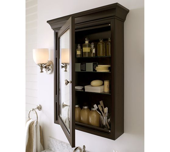 Hotel Wall-Mounted Medicine Cabinet   Pottery Barn