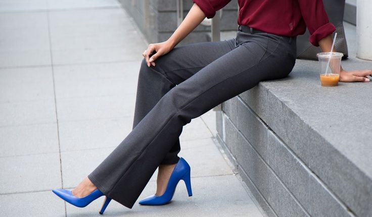 Yes, they're $78, but they are YOGA DRESS PANTS! Different colors and lengths and they actually look awesome... i need all of them.