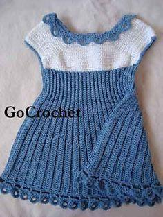 Ravelry: Summer Blues Baby Dress pattern by Ellen Gormley