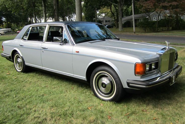 85 Rolls Royce Silver Spur