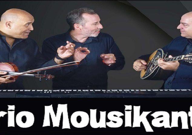 Trio Mousikanti στο Σταυρό του Νότου Plus, 18/4