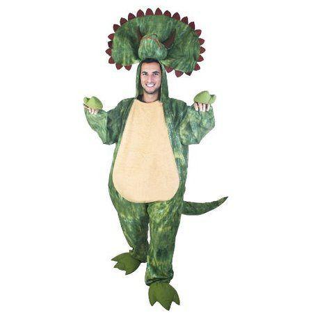 dinosaur costumes adult triceratops costume