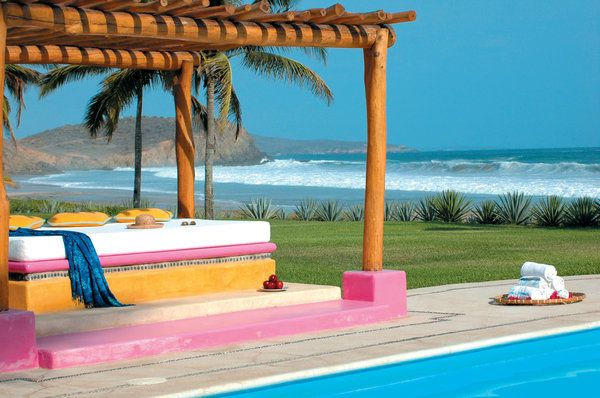 Looking for privacy, seclusion and total relaxation? Las Alamandas Resort, Costalegre in Mexico is the place for you! Come and discover the vast stretches of white sand beach, fresh-water lagoons, coves and rocky islands. http://www.slh.com/hotels/las-alamandas-resort/