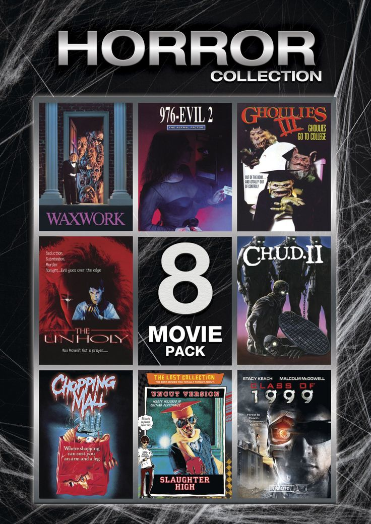 Horror Collection 1 8 Movie Pack Dvd Region 1 Us Import