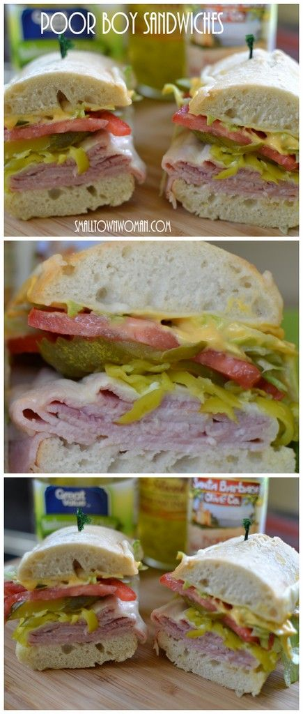 Poor Boy Sandwich found on smalltownwoman.com