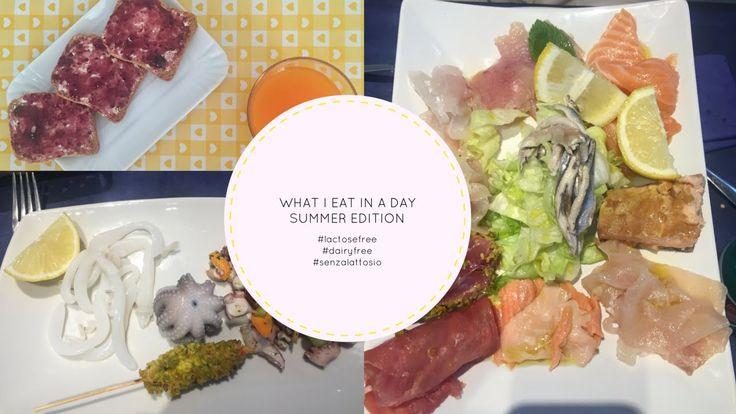 WHAT EAT IN A DAY   summer edition (ITA)   Stephanieclub