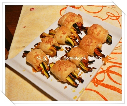 Vegetable's cannoli!  Have a nice week end!  http://www.svolazzi.it/2012/10/cannoli-di-verdura.html
