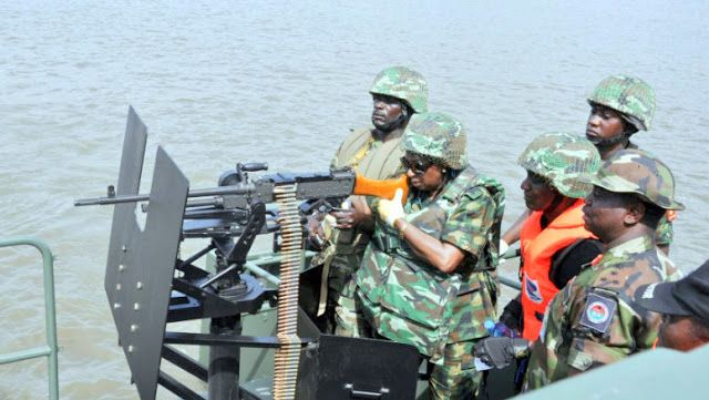 Nigerian Navy Rescues 4 Kidnapped Chinese Men
