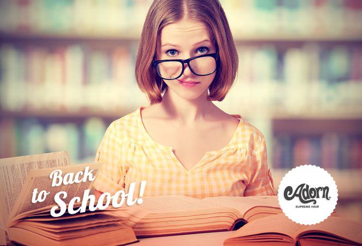 Stress da Back to school? Non certo per i vostri capelli =)