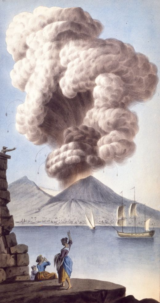 Sir William Hamilton Campi Phlegraei. Observations on the two volcanoes of the two Sicilies Printed in Naples in 1776.