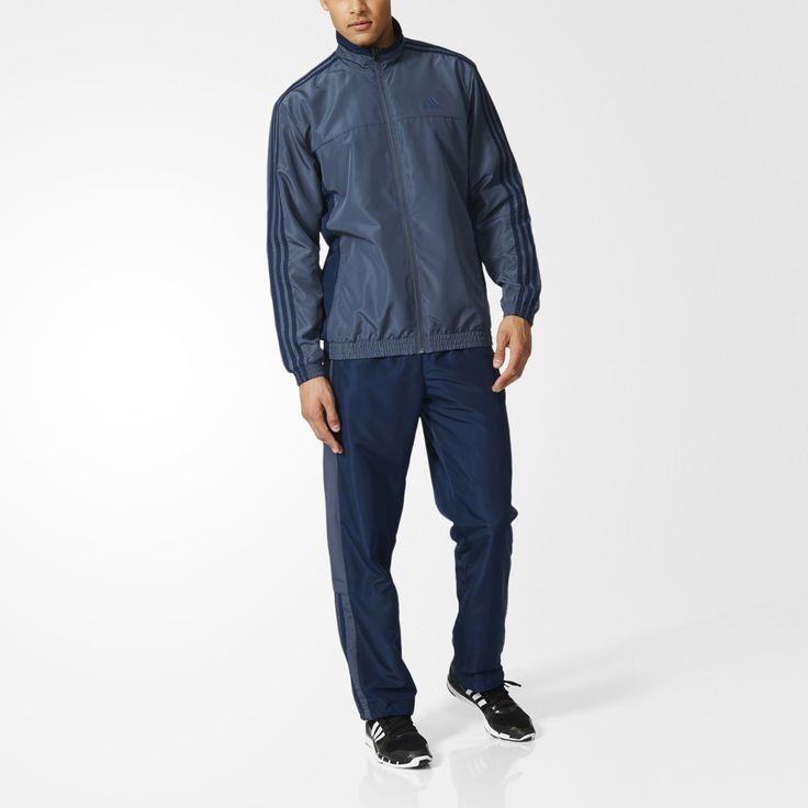 Adidas Erkek Eşofman Takım Ts Basic 3s AY3003 - 1