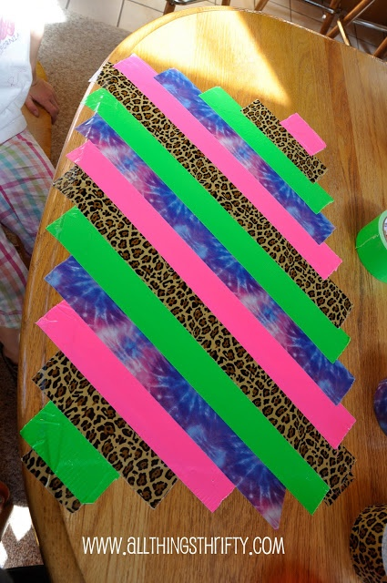 190 best images about duct tape projects on pinterest for Super easy duct tape crafts