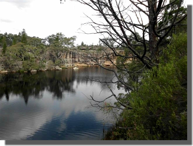 Dunn's Swamp - Wollemi National Park for camping bushwalking birdwatching 25 km from Rylstone, 1 hour from Mudgee