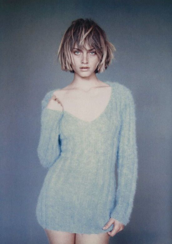 Amber Valletta (Photography by Paolo Roversi) | 1994