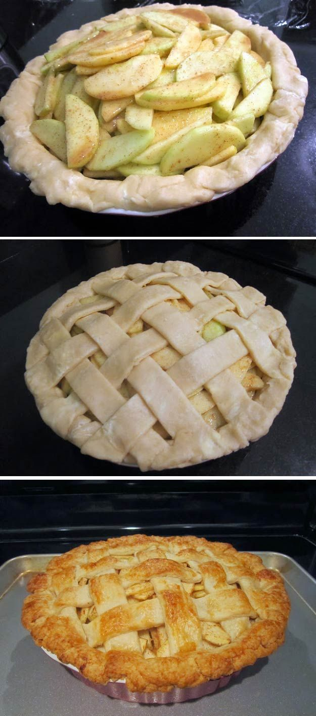 Easy Homemade Apple Pie | 16 Most Loved Thanksgiving Pies of All Time - The Perfect Dessert For Thanksgiving by Pioneer Settler at http://pioneersettler.com/best-thanksgiving-pies-time-survey/