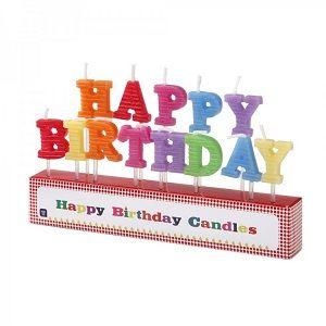 HAPPY BIRTHDAY Mumları - Doğum Günü Süsleri | Nice Yaşlara