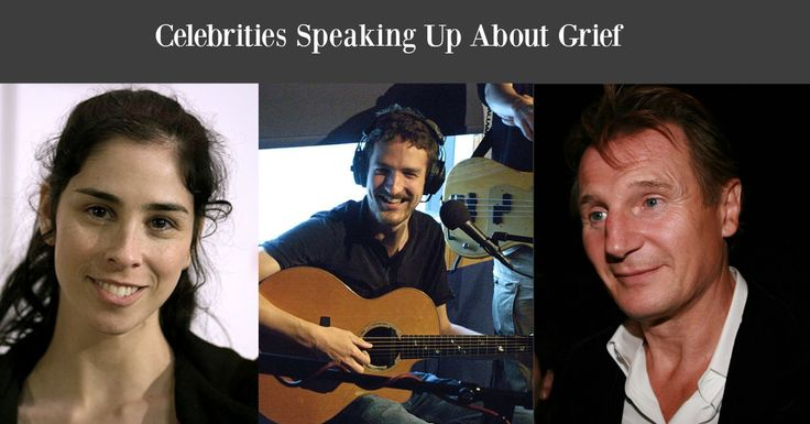 If you are a WYG regular (and we hope you are) you probably know we love love love when celebrities open up about grief. No, it is not because we take sometwisted pleasure inthe pain of the rich and famous. We love that celebrities talking about grief shines a light on a universal human experience ...