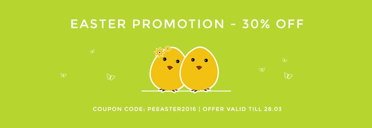 Our #Easter sale is extended! You can still buy #WordPress #themes 30% OFF! Only today