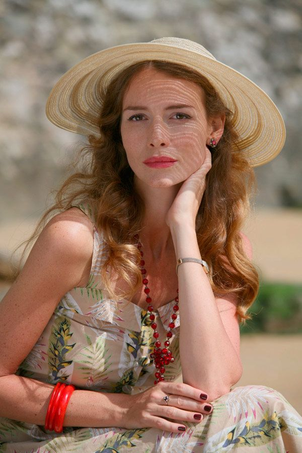 Saffron Burrows - Miss Marple
