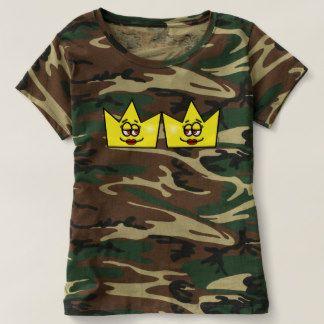 Lesbian Lesbica Rainha Queen Crown Coroa Camiseta