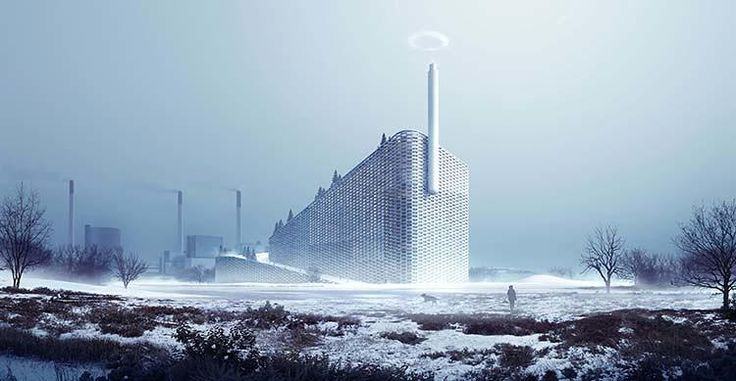 No One Likes Power Plants, But They Get Better When You Put A Ski Slope On Them | Co.Exist | ideas + impact