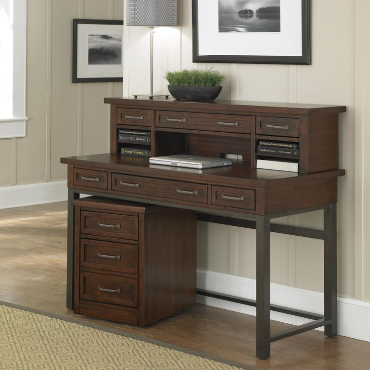 fancy wooden rack and desk for notebook also storage for amazing home small office decoration
