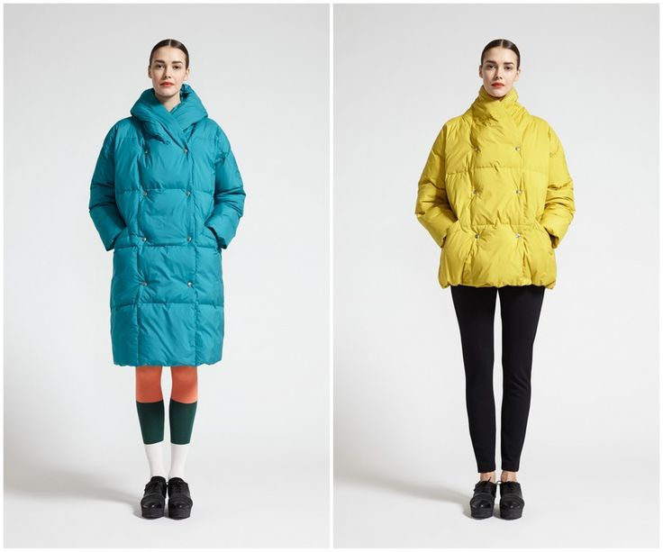 Finnish fashion brand Marimekko AW13 collection: Hubba coat & Bubba jacket. Click to see more: www.fashionflashfinland.com !