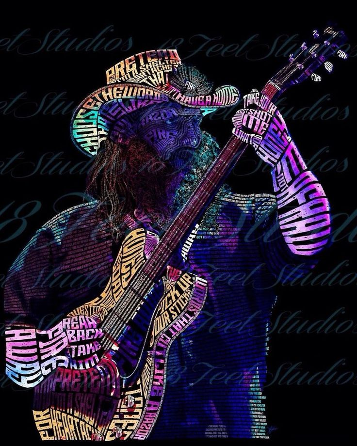 Chris Stapleton Typography Portrait by lilysmom85.deviantart.com on @DeviantArt