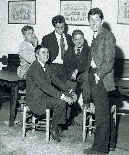 Gaber, Toffolo, Cochi, Renato e Lauzi al Derby