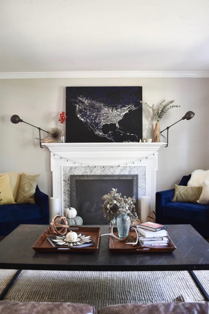 Best 25 big coffee tables ideas on pinterest big coffee best simple fall home decor our fall home tour geotapseo Image collections