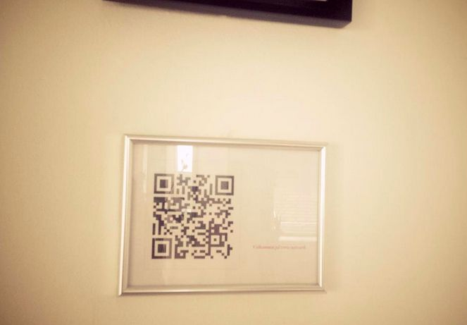 Have guests often? Generate a QR code with your WiFi details that you can frame for easy access