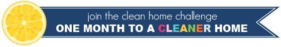 85Monthly Clean Home Challenge Recap!