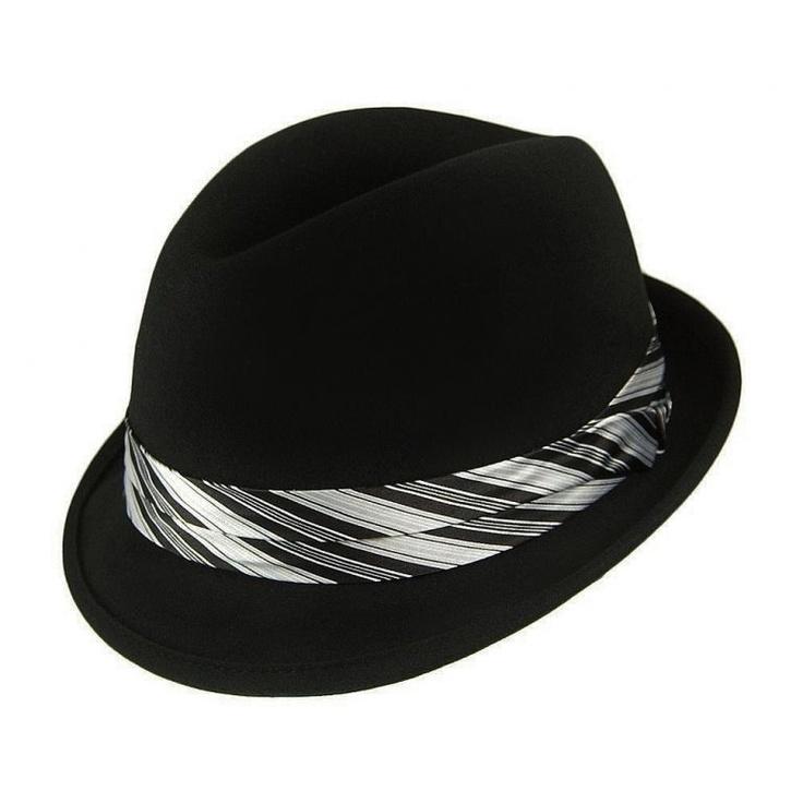 Chapeau feutre noir rétro Brixton | HOMME PIN UP ATTITUDE : Le chapeau brixton de feutre noir est un des plus unique et authentique de la collection. Un must pour sortir du lot!  http://www.pinupattitude.com/gamme.htm?products_name=Chapeau+feutre%20noir%20r%E9tro%20Brixton_id=15#  #homme #mensapparel #vintage #oldschool #rock #shopping #retro #50s #60s #rockabilly #psychobilly #pinup #accessoire #chapeau