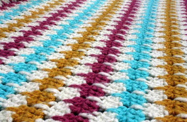 Tutorial for crocheting the larksfoot pattern!