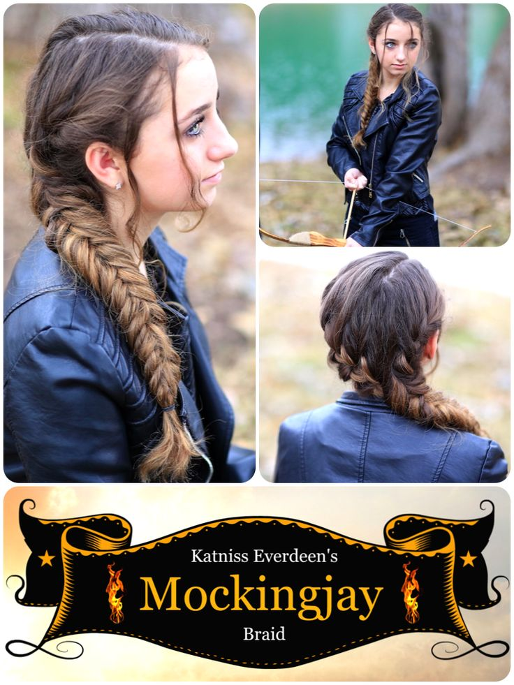 Katniss' Braid from Mockingjay and more Hairstyles from CuteGirlsHairstyles.com #cghmockingjaybraid