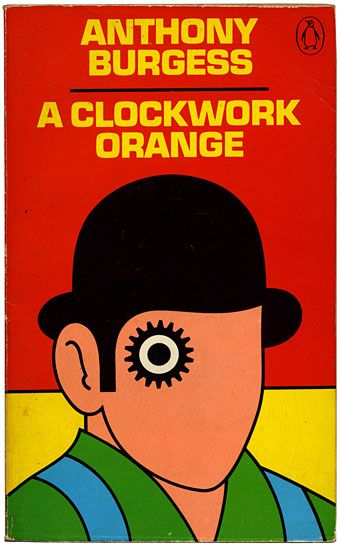 David Pelham's Clockwork Orange.David Pelham is the art director responsible for the distinctive Penguin spine complete with iconic symbol in the top right corner on the front and back cover. His artistic reforms in the 70's revolutionised Penguin cover design, freeing designers to view each front cover as a blank canvas. David has won many awards, including the Gold Awards from both the Designers and Art Directors Association of London and the Art Directors' Club of New York.