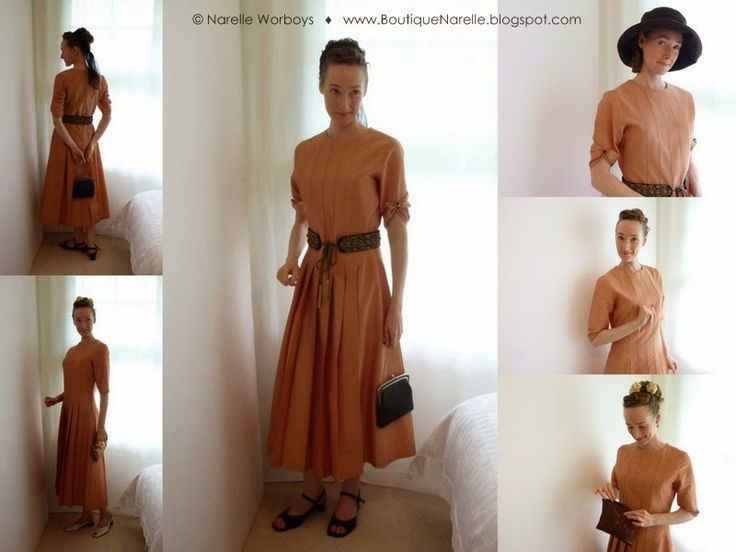 Modest Clothing: try on and buy at NZ event. Autumn Glow silk shantung long dress, with separate beaded and embroidered oriental tie belt. http://boutiquenarelle.blogspot.co.nz/2014/10/modest-clothing-try-on-and-buy-at-nz.html