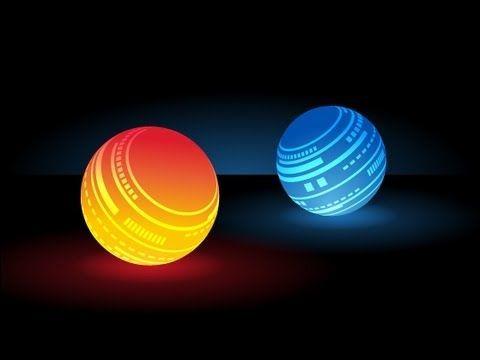 Adobe Illustrator - Tutorial 16 - Lumi - Light balls