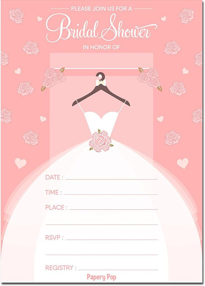 Blank Bridal Shower Invitations For Spring Free Printable Creative And Fun Wedding Ideas Made Simple In 2020 Bridal Shower Invitations Templates Wedding Shower Invitations Bridal Shower Invitations