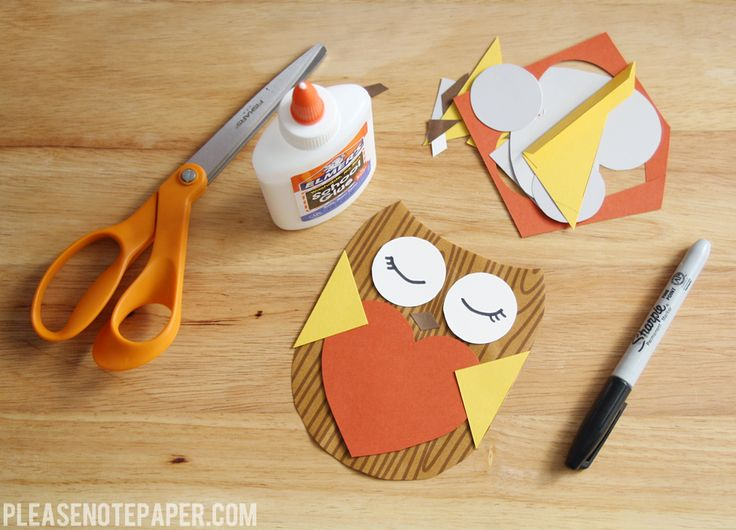 DIY: Owl Valentine, templates included