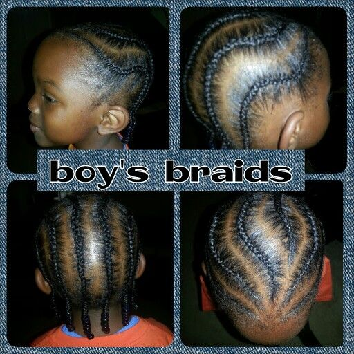 Little boys braids design braids