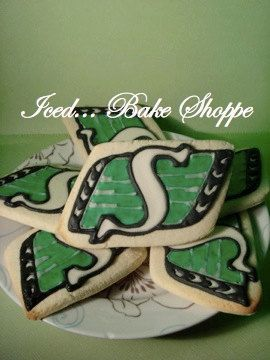 Football Team  Saskatchewan Roughriders Logo by IcedBakeShoppe, $24.95