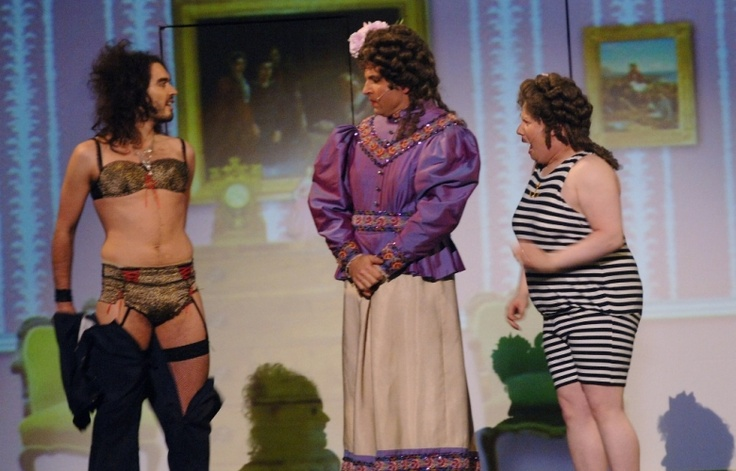 Picture Gallery | Comic Relief Russell Brand, David Walliams and Matt Lucas.