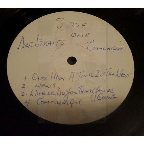 Dire Straits  - Communiqué Rare 1979 Vertigo Australian Test Pressing of Dire Straits album Communique. Vinyl is VG+, Cover is generic white cover.