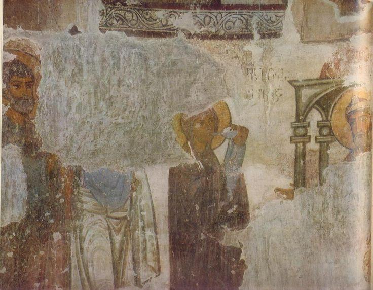 Испытание горькой водой. Числа. Афины, фрески.